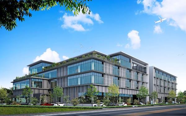 島津製作所は2021年4月にも川崎市内に新たな開発拠点を設ける。