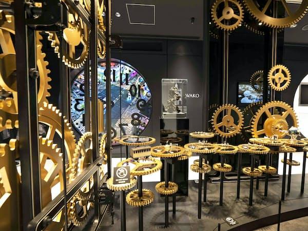 「体験型」と銘打った新店舗でブランドの魅力を訴える(東京・銀座)