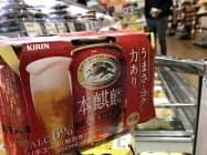 キリンビールは2018年の販売で第三のビール「本麒麟」が好調だった