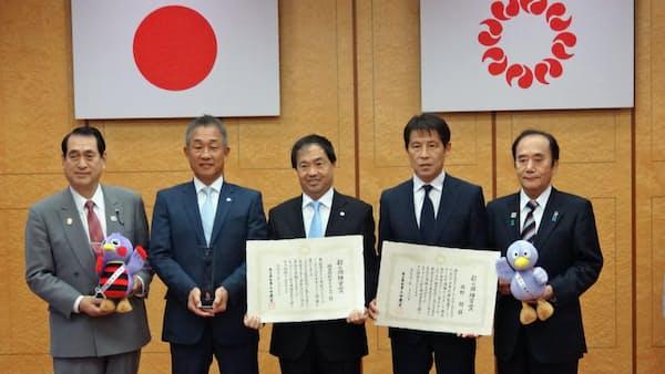 埼玉県、サッカー西野前監督と西武に「彩の国功労賞」