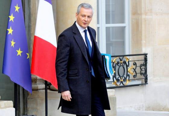 フランスのルメール経済・財務相=ロイター