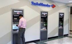 消費者向けの銀行業が好調=AP