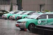 グラブは東南アジアの配車アプリでデファクトスタンダード(事実上の標準)となっている