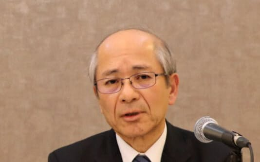 広島経済同友会の次期代表幹事に内定した田村興造・広島ガス会長