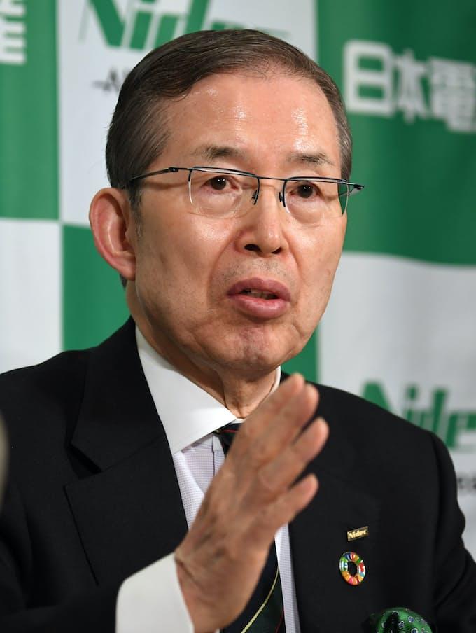日本 電 産 永守 会長