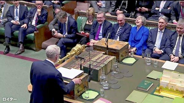 メイ英首相、合意なき離脱「排除せず」