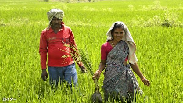 インドの農機普及率1割、潜在成長性高く