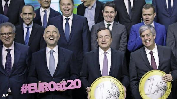 ユーロ20歳「成長」は続くか
