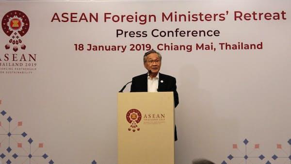ロヒンギャ問題に「積極関与」 ASEAN外相会合