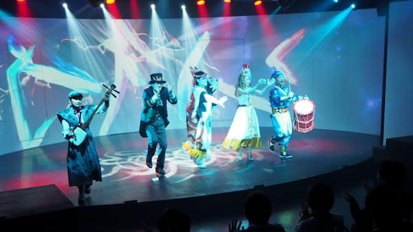 エンタメは万国共通 大阪の娯楽施設が活況