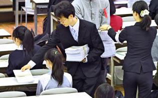 2020年度から始まる「大学入学共通テスト」に向け実施された試行調査(東京都目黒区)