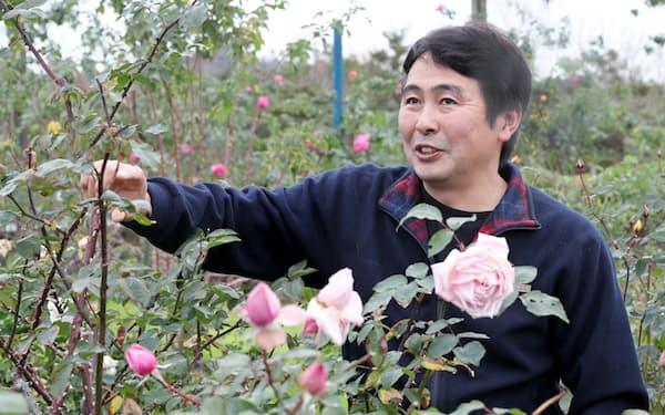 「エコパーク水俣」指定管理者代表の前田宜重氏