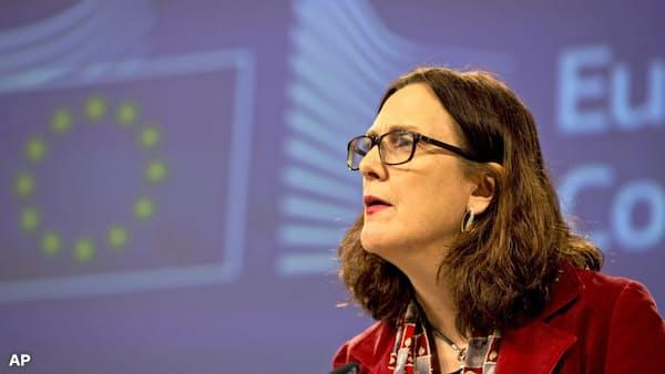 対米通商協議「農業含まず」、欧州委が交渉方針案