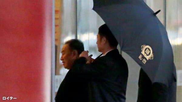 米朝高官が協議 首脳再会談へ詰め、成果手探り
