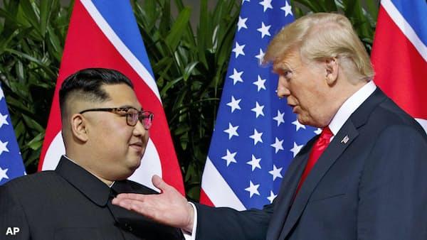 米朝首脳、2月末に再会談へ ホワイトハウスが発表
