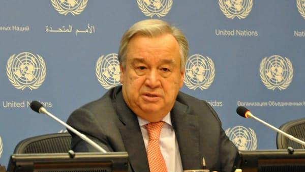 国連事務総長、米朝に早期交渉再開を要請