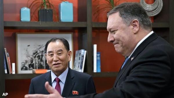 米朝再会談「非核化の具体的措置を協議」 米副大統領