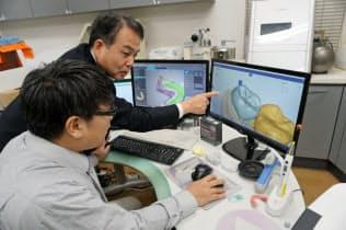 三井化学は自動設計ソフトの開発で技工士が歯科材料を使うための環境を整備する