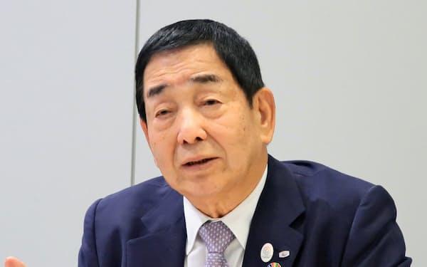岩井コスモHDの沖津嘉昭会長