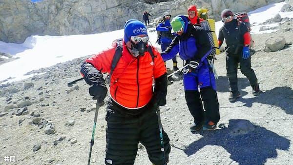 三浦さん再挑戦へ意欲 次男、南米最高峰に登頂