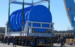 フィルターベントシステムの本体は巨大な円筒形(日本機械学会提供)