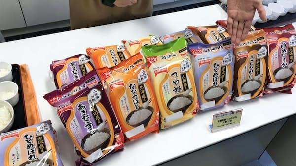テーブルマーク、パックご飯に宮城県産ひとめぼれ追加