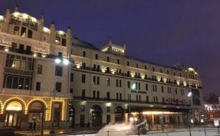 メトロポールホテルはモスクワで有名な老舗ホテルだ