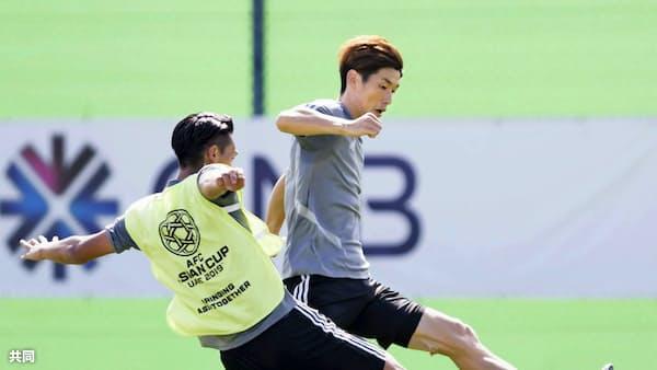 サッカー代表、大迫が順調に調整 アジア杯24日にベトナム戦