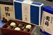 大丸札幌店は日本酒入りのチョコレートを売りにする