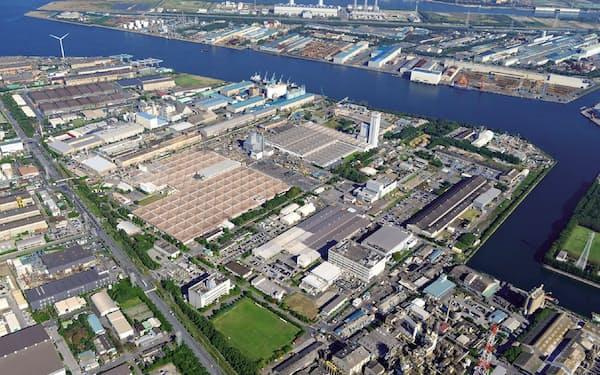 古河電工千葉事業所は67万平方メートルの広さを誇る
