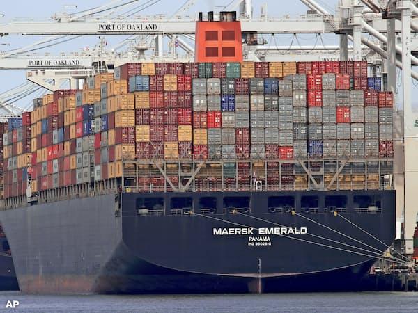 米国は3月1日までに中国と貿易協議で合意できなければ、約22兆円分の中国製品に対する制裁関税の税率を10%から25%に引き上げる構えだ=AP