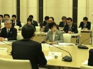 市場移転の関係局長会議(都庁)