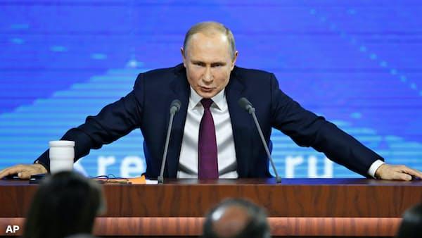 プーチン神話が終わるとき