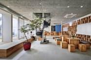 東京建物とはモデルルームのスペース活用などに取り組む予定だ(東京・品川のモデルルーム)