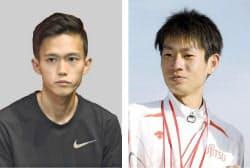 大迫傑(左)、中村匠吾=共同