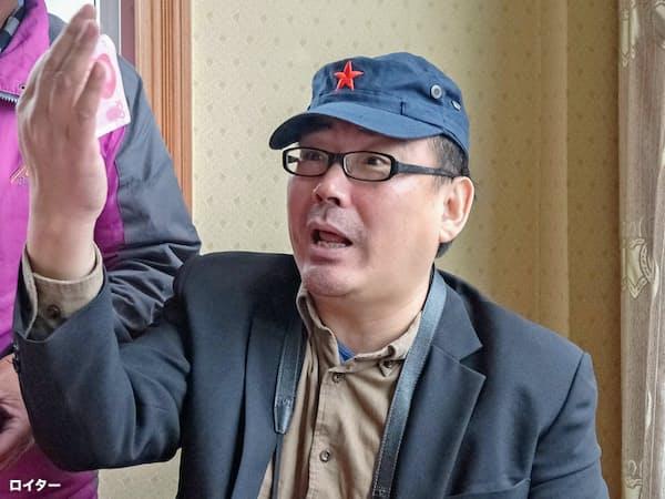 中国で拘束された楊恒均氏(14年)=ロイター