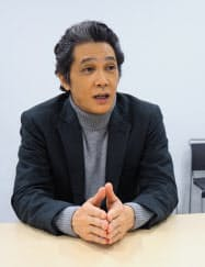 「二階堂家物語」に主演した俳優の加藤雅也