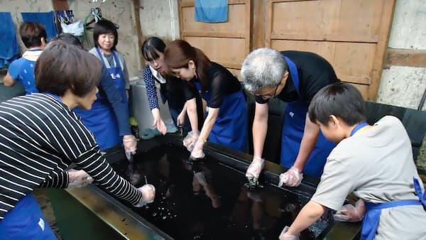 徳島、日本の藍産業再興に向けリーダーシップ 2月にサミット開催