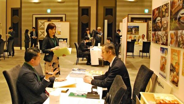 四国4県のジェトロ事務所、高知市で輸出商談会