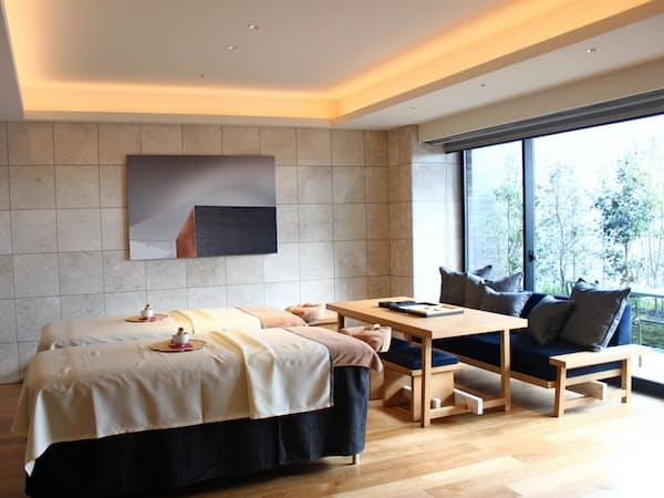 1室の平均面積は約40平方メートル