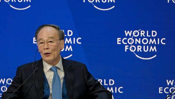 中国、対米貿易協議で誤算 米政府閉鎖が影 王岐山氏、ダボスで接触できず