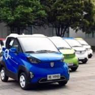 中国恒大集団が買収するCENATの車載電池は中国のEVメーカーなどに採用されている(CENATのウェブサイトより)