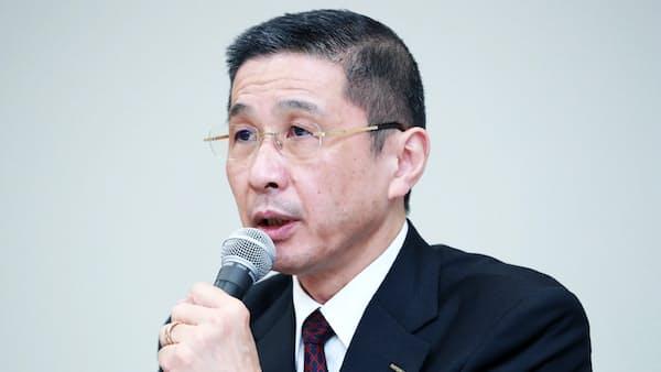 日産・西川社長「統合議論、今すべきでない」