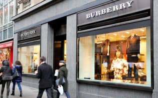 スイス・チューリヒのバーバリー店舗=ロイター
