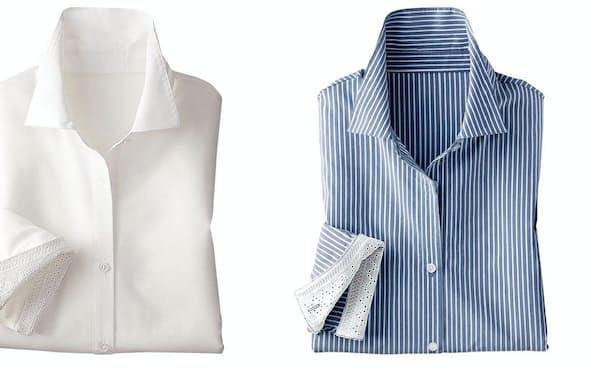 ベルーナが発売した「ストレッチビッグシャツ」