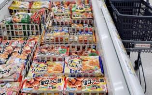 味の素の2019年3月期の国内冷凍食品は減益となる見通し(神戸市北区)