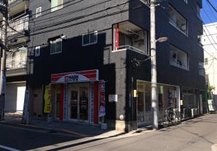 WASHハウスが首都圏で展開するビル内のテナント店舗(東京都江東区亀戸)