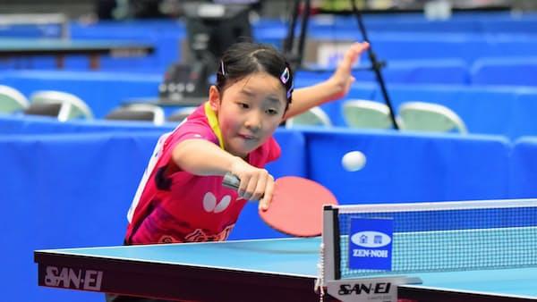 全日本卓球、小中学生が躍進 幼少期の環境に共通点
