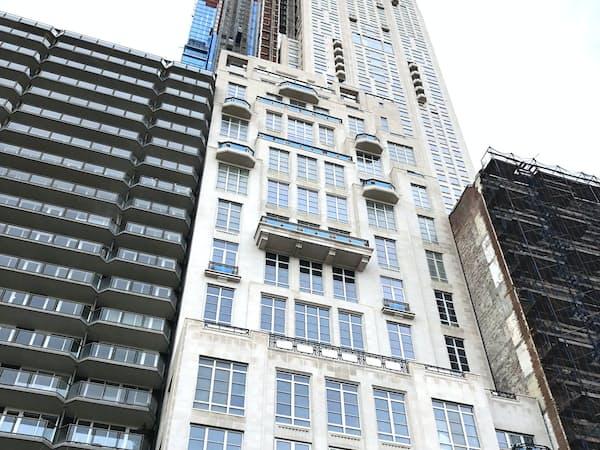 グリフィン氏が史上最高額で購入した高層マンション(ニューヨーク・マンハッタン)