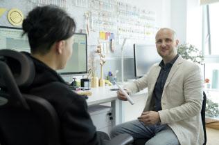 フランス人のルペン氏を起業にかき立てたのは深圳の熱量とスピードだ(昨年12月、深圳市)